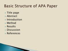 Ape thesis reference list